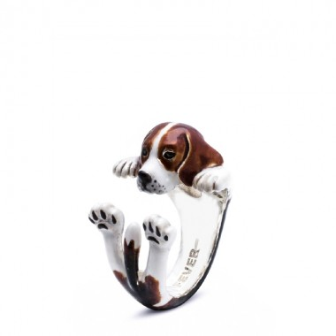 Beagle Hug Ring