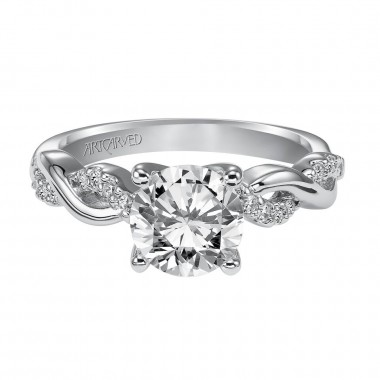 Diamond Ring Setting by ArtCarved Bridal