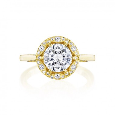 Tacori Chandelier Ring Setting