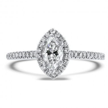 Marquise Diamond Ring by Noam Carver