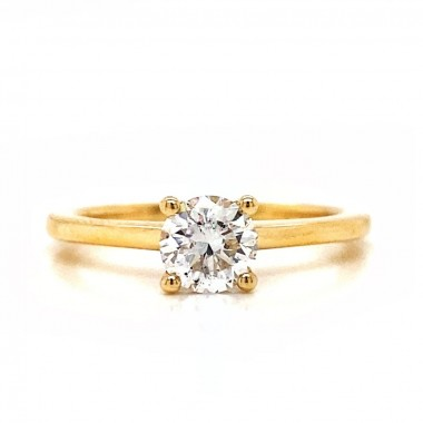 Diamond Solitaire Ring by Noam Carver