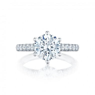 Platinum Tacori Diamond Ring