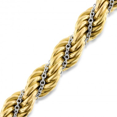 Hollow Rope Chain Bracelet