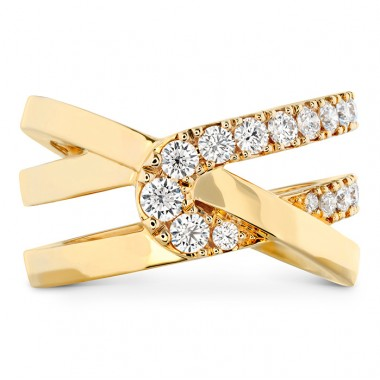 Optima Wrap Ring by Hearts on Fire