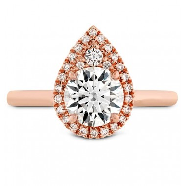 Oval Juliette Ring Setting by Hearts on Fire