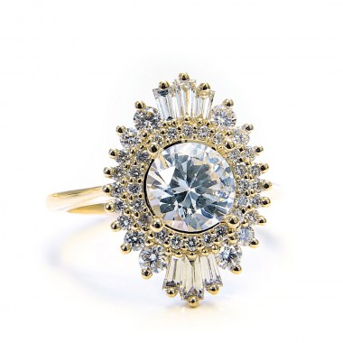 Vintage Style Ring Setting by Parade