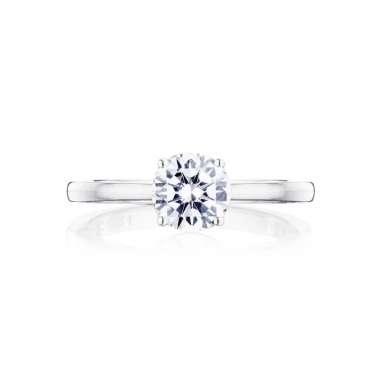 Coastal Crescent Solitaire Ring Setting by Tacori