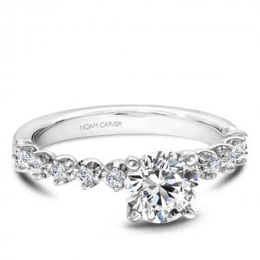 Diamond Ring Setting by Noam Carver