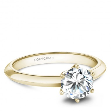 Solitaire Ring Setting by Noam Carver