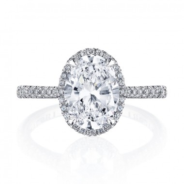 Simply Tacori Diamond Ring Setting