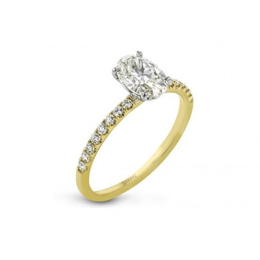 Oval Ring Setting by Simon G