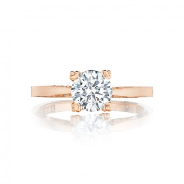 Pretty in Pink Ring Setting by Tacori