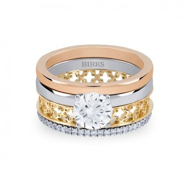 Birks Dare to Dream Stackable Engagement Ring