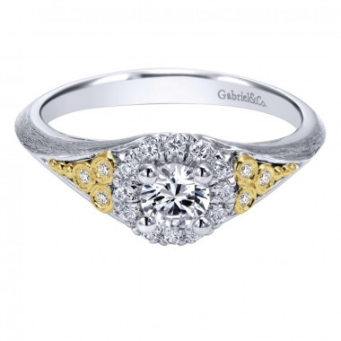 Satin Finish Diamond Ring