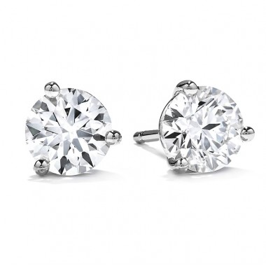 .70TCW Three Prong Studs by Hearts on Fire