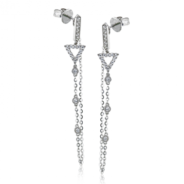 Convertible Drop Earrings by Simon G