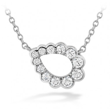Aerial Regal Teardrop Necklace by Hearts on Fire