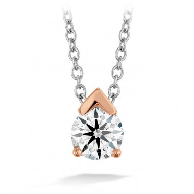 Aerial Single Diamond Pendant by Hearts on Fire