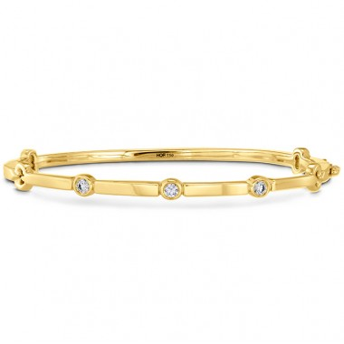 Copley Multi Stone Bangle by Hearts on Fire