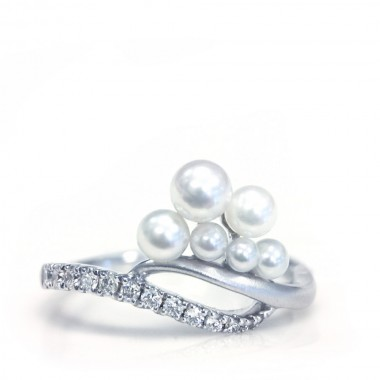 Pearl & Diamond Ring by Parade
