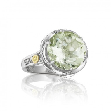 Prasiolite Ring by Tacori
