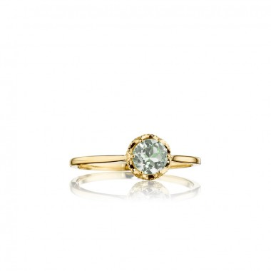 Petite Prasiolite Basket Ring by Tacori