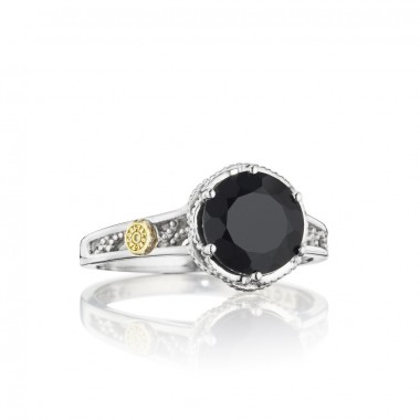 Black Onyx Basket Ring by Tacori