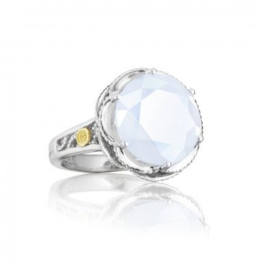 Chalcedony Basket Ring by Tacori