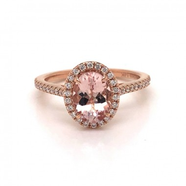 Morganite Ring by Noam Carver