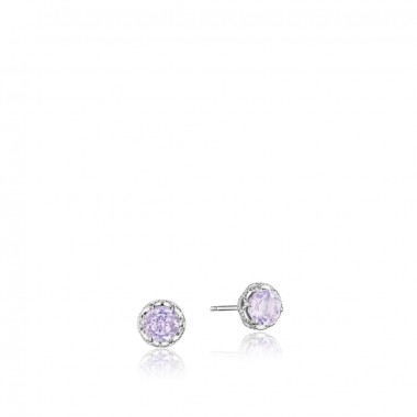 Rose Amethyst Studs by Tacori