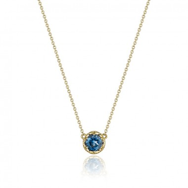 London Blue Topaz Necklace by Tacori