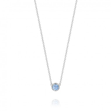 Swiss Blue Topaz Necklace by Tacori
