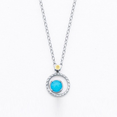 Neolite Turquoise Necklace by Tacori