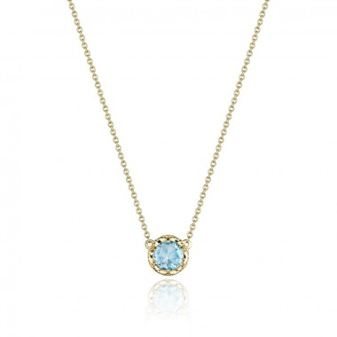 Petite Topaz Basket Necklace by Tacori