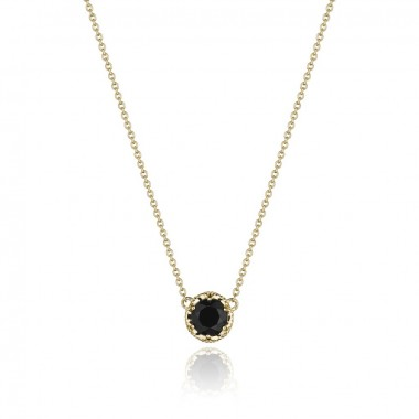 Petite Onyx Basket Necklace by Tacori