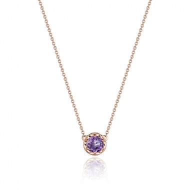 Petite Amethyst Basket Necklace by Tacori