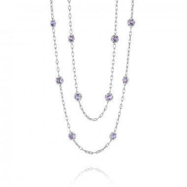 Tacori Candy Drop Amethyst Necklace