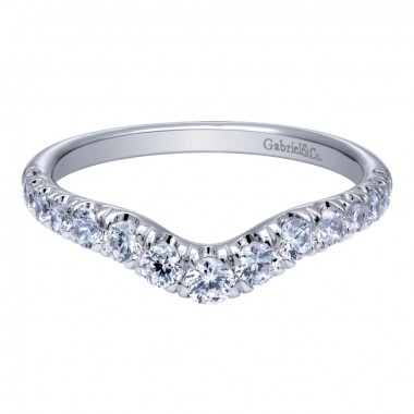 Diamond Wedding Band by Gabriel