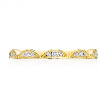 Crescent Crown Diamond Band