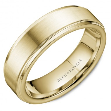Classic Satin Finish Wedding Band