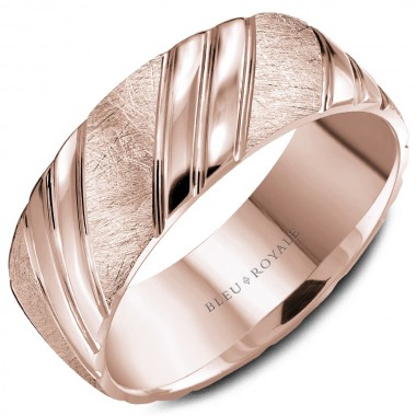 Rose Gold Band by Bleu Royale