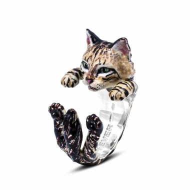 Norwegian Forest Hug Ring by Cat Fever