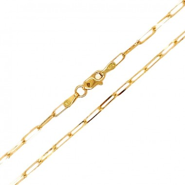 22 Inch Paperclip Chain