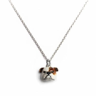 English Bulldog Necklace by Dog Fever