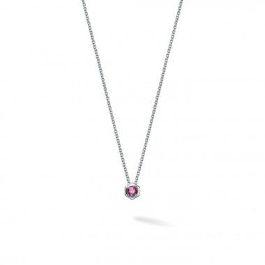 Bee Chic Pink Tourmaline Necklace