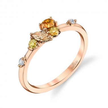 Fancy Diamond Ring by Parade