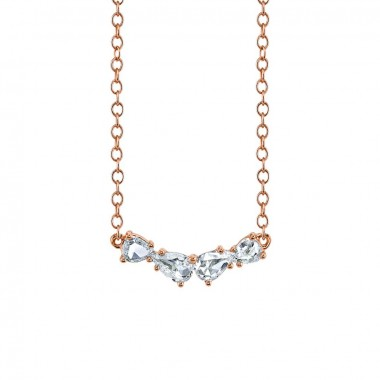 Rose Cut Diamond Necklace by Parade