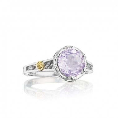 Tacori Lilac Blossoms Rose Amethyst Ring