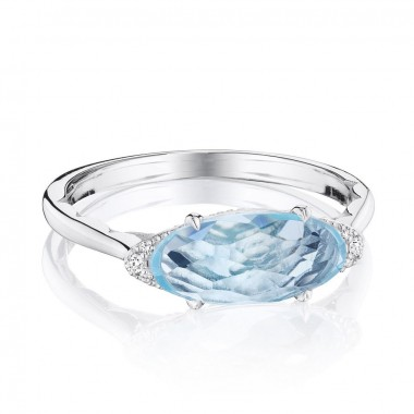 Blue Topaz Ring by Tacori