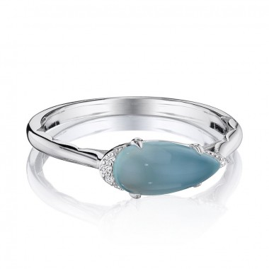 Sea Green Chalcedony Ring by Tacori